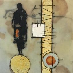 Michelle Thibault Encaustic Painting Visual Art