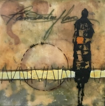 Michelle Thibault Visual Art Encaustic