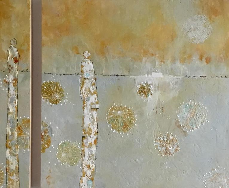 Michelle Thibault visual art, encaustic, Rirī