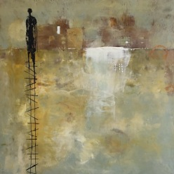 Michelle Thibault, visual art, encaustic, painting, mixed media