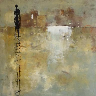 Michelle Thibault, visual art, encaustic, painting, mixed media