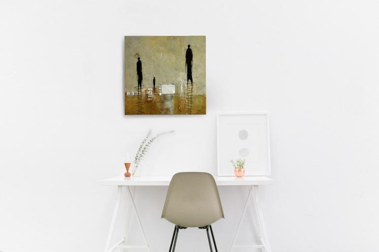 Michelle Thibault, visual art, encaustic painting, contemporary art, mixed media